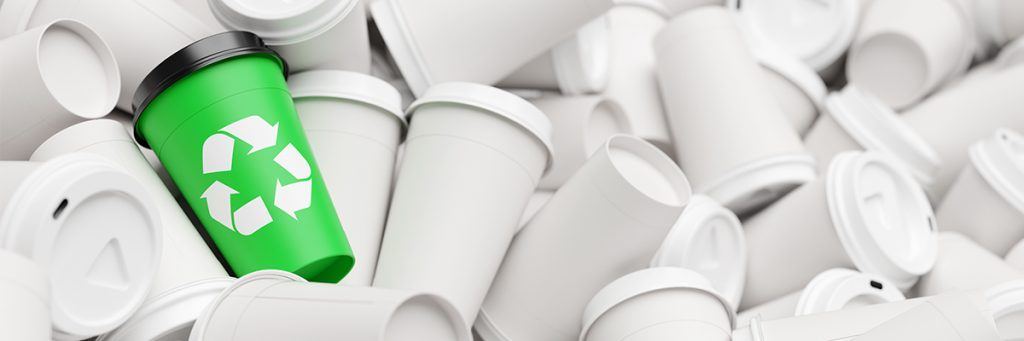 sustainable packaging coffee cup